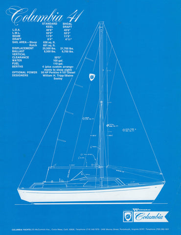 Columbia 41 Preliminary Brochure
