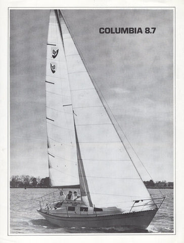 Columbia 8.7 Specification Brochure