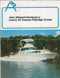 Allmand 34 Express Flybridge Cruiser Brochure