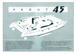 Prout 45 Specification Brochure