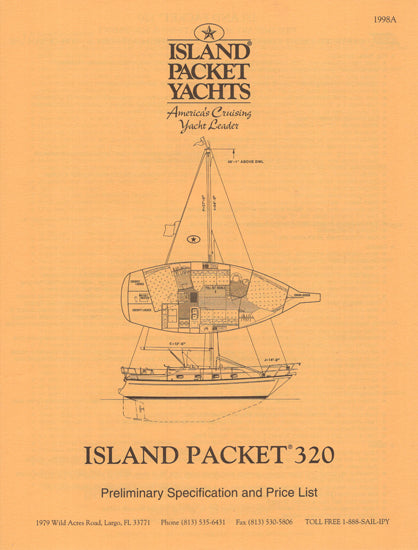Island Packet 320 Specification Brochure