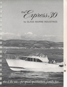 Columbia 30 Express Cruiser Brochure