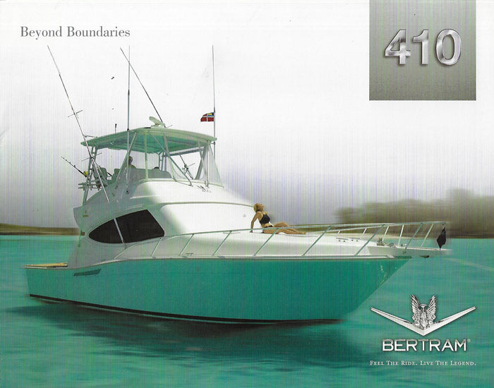 Bertram 410 Convertible Brochure