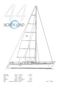 North Wind Ola 44 Specification Brochure