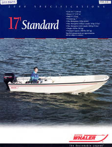 Boston Whaler  17 Standard  Brochure