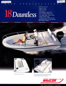 Boston Dauntless 18 Brochure