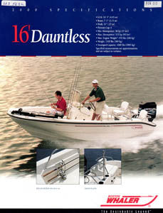 Boston Dauntless 16 Brochure