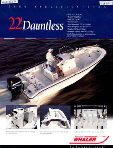 Boston Dauntless 22 Brochure