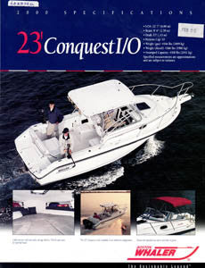 Boston Conquest 23 I/0 Brochure