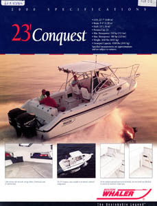Boston Conquest 23 Brochure