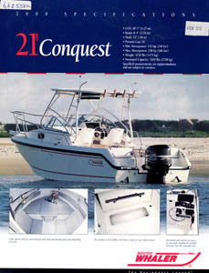 Boston Conquest 21 Brochure