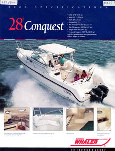 Boston Conquest 28 Brochure
