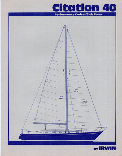 Irwin Citation 40 Brochure