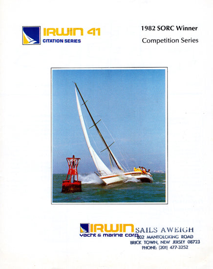 Irwin Citation 41 Brochure