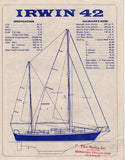 Irwin 42 Brochure & Price List