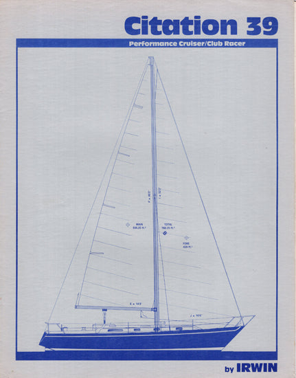Irwin Citation 39 Brochure