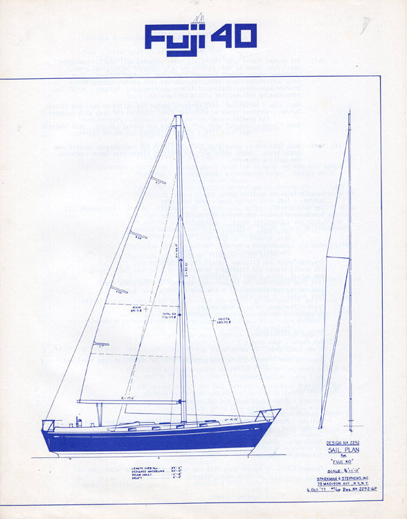 Fuji 40 Specification Brochure