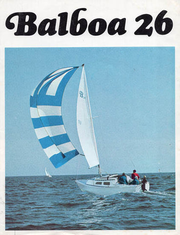 Balboa 26 Brochure Package