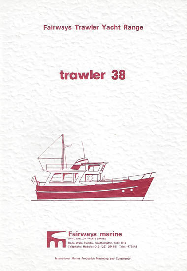 Fairways Trawlers 38 Brochure Package (Digital)