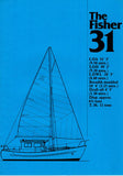 Fairways Fisher 31 Specification Brochure