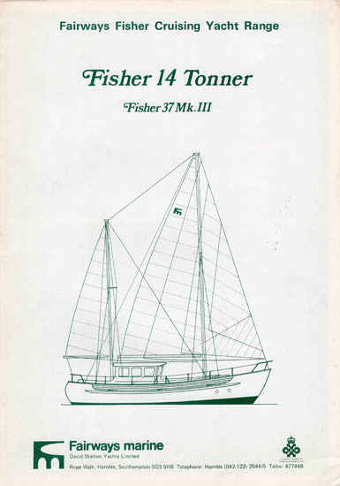 Fisher 37 Mark III Brochure