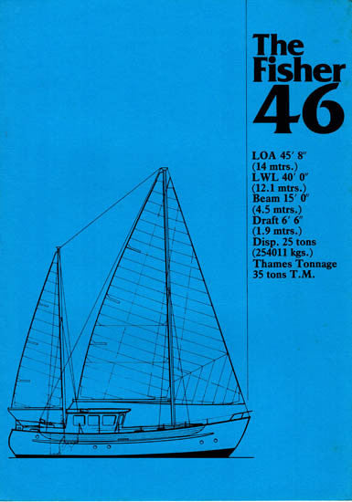 Fairways Fisher 46 Specification Brochure