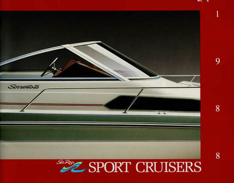 Sea Ray 1988 Sport Cruisers Brochure