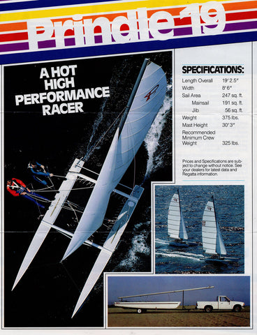 Prindle 19 Catamaran Brochure
