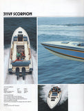 Chris Craft 1983 Sport Boats Brochure