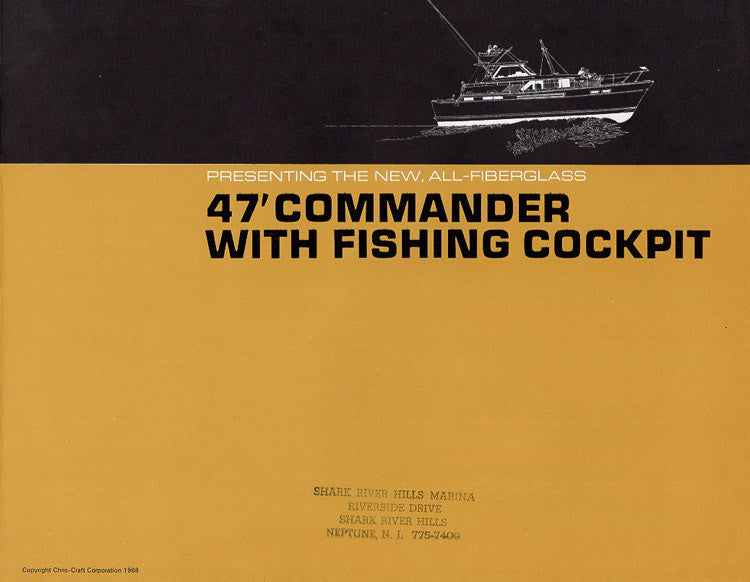 Chris Craft Commander 47 Brochure