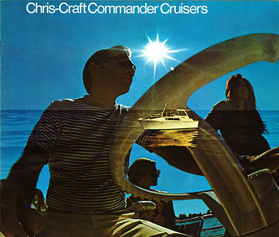 Chris Craft 1970 Commander Cruisers Brochure