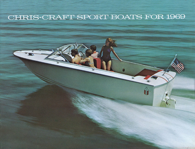 Chris Craft 1969 Sport Boats Brochure