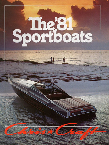 Chris Craft 1981 Sport Boats Brochure
