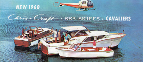 Chris Craft 1960 Sport Mini Brochure