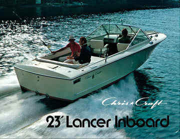 a chris craft corsair lancer sailinfo i boatbrochure com rh boatbrochure com 1965 Chris Craft Lancer Chris Craft Lancer Transom Vents