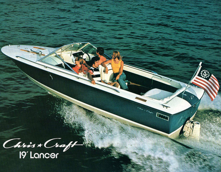 chris craft lancer 19 brochure sailinfo i boatbrochure com rh boatbrochure com 1968 Chris Craft Lancer 24 Chris Craft Lancer Express