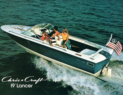 Chris Craft Lancer 19 Brochure