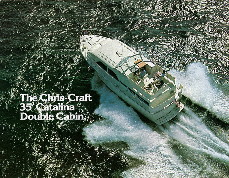Chris Craft Catalina 35 Double Cabin Brochure