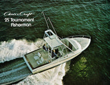 Chris Craft 25 Tournament Fisherman Brochure