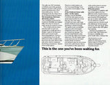 Chris Craft Corinthian 38 Launch Brochure