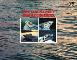 Chris Craft 1979 Cruisers Brochure