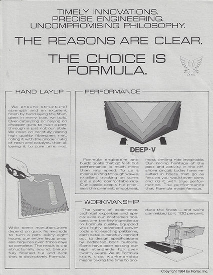Formula Construction & Innovation Brochure