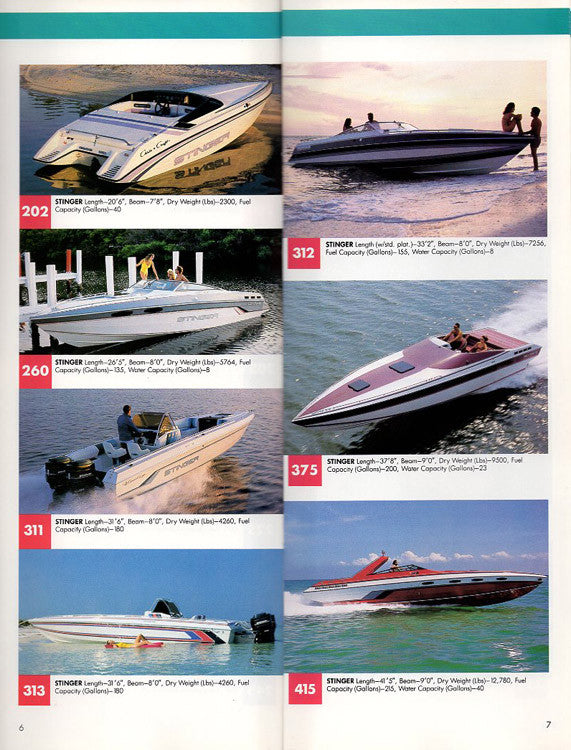 Chris Craft 1988 Full Line Brochure – SailInfo I