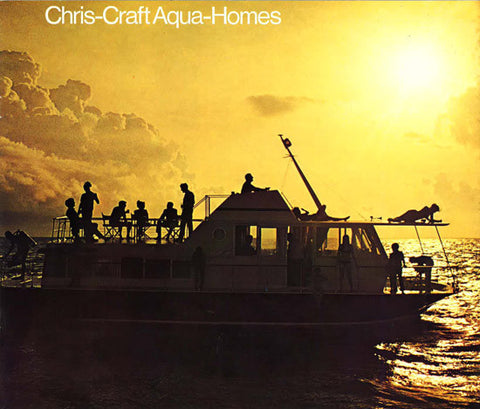 Chris Craft 1970 Aqua Home Brochure