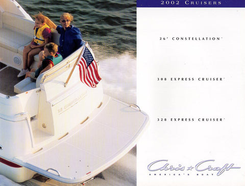 Chris Craft 2002 Cruisers Brochure