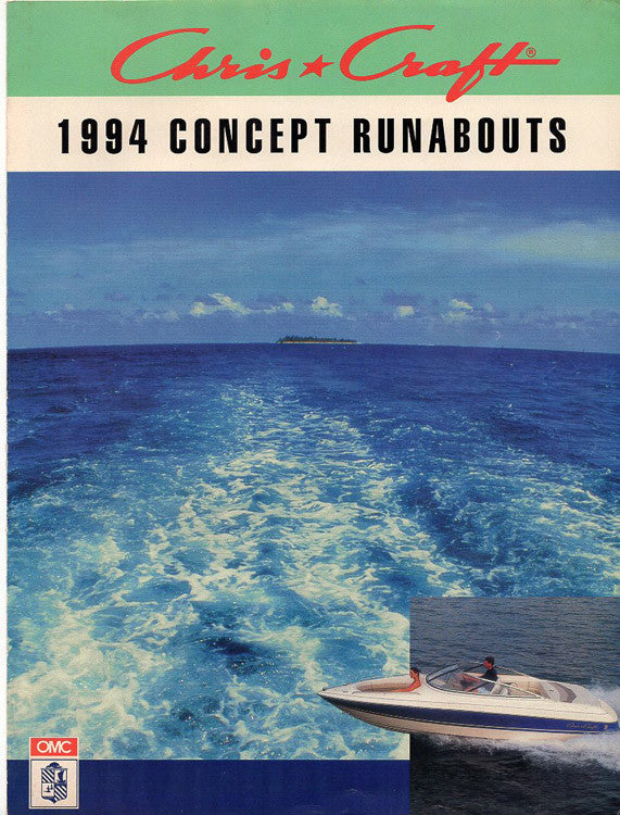 Chris Craft 1994 Concept Runabouts Brochure