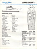 Chris Craft Commander 422 Brochure
