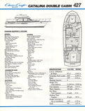 Chris Craft Catalina 427 Double Cabin Brochure