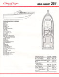 Chris Craft Sea Hawk 254 Brochure