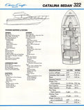 Chris Craft Catalina 322 Sedan Brochure